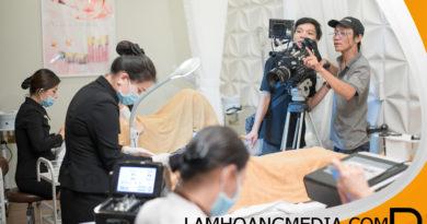 Dịch vụ quay phim về giới thiệu liệu trình spa